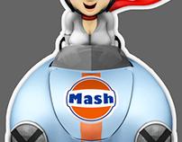 Mash356A-SPEEDSTER/Circuit no musume