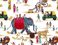 Getting Around: India Pattern