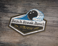Beach Break Bowl & Brew Logo