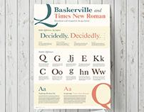 Baskerville vs. Times New Roman