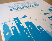 Diseño y maquetación programas educativos municipales