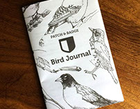 Illustrations for Children's Bird Journal.