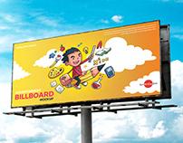 Free Advertisement Billboard Mockup PSD