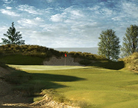 Golf Hole CGI - Lochiel Golf Course, New Zealand
