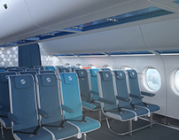 Economy Aircraft Interior