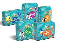 Embalagens Looney Tunes Carta Fabril