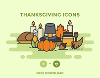 FREE - THANKSGIVING ICONS