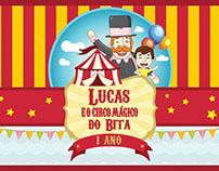 Lucas e o Circo Mágico do Bita
