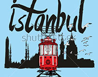 stock-vector-istanbul-tram-graphic-design-vector