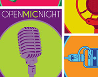 Poster Campaign | Open Mic Night