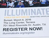 Illuminate Austin Event Postcard