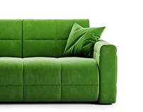 Gurian Soft Sofa 3D model
