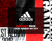 ADIDAS /// RED LIMIT PACK