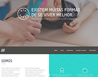 Health Center website project