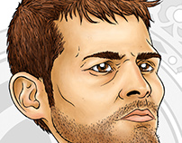 Iker Casillas Caricature