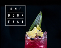One Door East : Branding