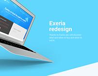 Exeria redesign