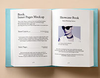 Free Hardback Book Mockup PSD