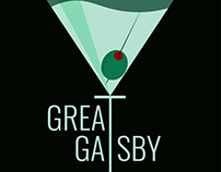 Poster design for Great Gatsby