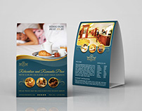 Hotel Table Tent Template Vol.2