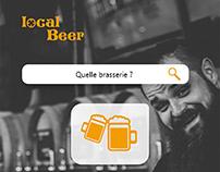 Local Beer - Prototype app mobile