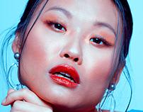 Beauty Editorial Azul