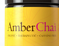 Amber Chai Product Render