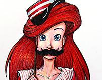 Ballpark Princess Illustrations