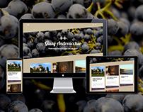 Blog wordpress & branding | Sommelier