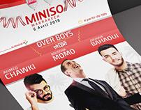 MINISO MEDIA. (Moroccan Stars Poster's)