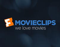 Movieclips Responsive Website