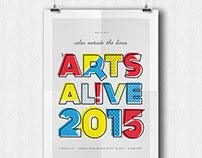 Arts Alive 2015 Poster