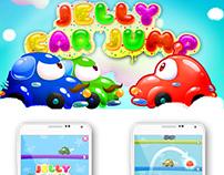 Дизайн игры JellyCarJump