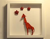 Origami Giraffe Aquarium