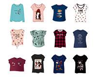 Girls T-Shirt Design