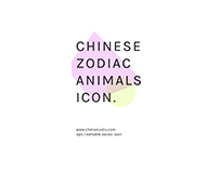 Chinese zodiac animals icon