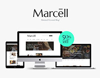 Minimal Personal Blog & Magazine WordPress Theme