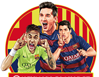 Some of our barca art