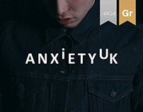 AnxietyUK Rebranding and Awareness Campaign