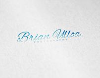 Brian Ulloa . Photography - Logo & Identity Design