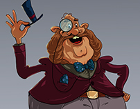 Mr. Walter Chipwitther/ Character Design
