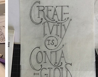 Lettering Projects