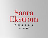 Saara Ekströn: Amnion| Exhibition visuals