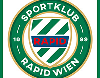 SK RAPID WIEN. Another idea for a new Rapid logo.