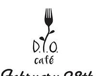 D.I.O. Nutrition Cafe Logo Design