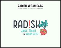 RAD!SH Vegan Eats Branding