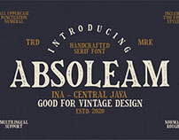Absoleam Vintage Rough Font