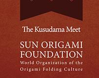 The Kusudama Meet. Publication Mock-Up