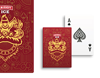 Smirnoff Ice Chinese New Year Playing Cards design