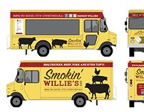 Smokin' Willie's BBQ rebrand